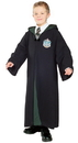 Rubies Costumes 884258L Harry Potter - Deluxe Slytherin Robe Child Costume