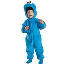 Disguise 6598L-I Sesame Street - Cookie Monster Infant / Toddler Costume
