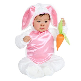 Charades Costumes 84068XS Plush Bunny Child Costume, Display Size: X-Small