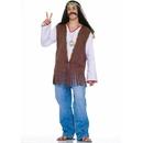 Forum Novelties 152287 Faux Suede Hippie Vest Costume