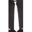 Forum Novelties 152474 White Long Tie