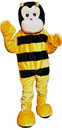 Dress Up America 356-Adult Bumble Bee Economy Mascot Adult Costume