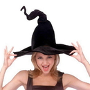 Rubies Costumes 154987 Wired Witch Hat Adult