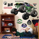 Party Destination Monster Jam Giant Wall Decals