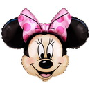 Party Destination 13140 Disney Minnie Mouse Head Jumbo Foil Balloon