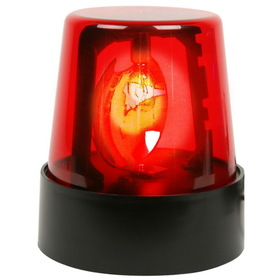 "Rhode Island Novelties EL-POLRE 7"" Red Police Beacon Light"