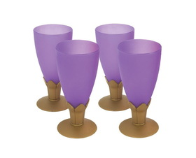 Party Destination Purple Royal Goblet