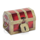 Party Destination 173802 Treasure Box Empty Favor Boxes