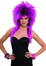 Forum Novelties 62784 80's Purple Pizazz Adult Wig