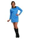 Rubies Costumes 889060M Star Trek Classic Blue Dress Deluxe Adult Costume
