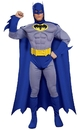 Rubies Costumes 180103 Batman Brave & Bold Deluxe Muscle Chest Adult Costume - Medium