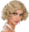 Rubies Costumes 51788 Flapper Wig Adult (Blonde)