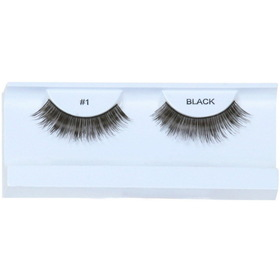 Garland Beauty E1 Black Eyelashes with Case - Size: One Size - Color: Black