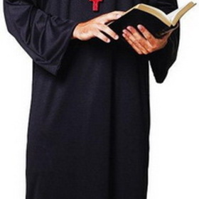 Paper Magic 6850670 Priest Robe Adult Costume