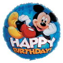 Party Destination 18110 Disney Mickey Happy Birthday Foil Balloon