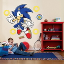 Party Destination Sonic the Hedgehog Giant Wall Decals