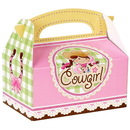 Party Destination 192351 Pink Cowgirl Empty Favor Boxes