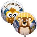 Party Destination Let's Go Camping Foil Balloon