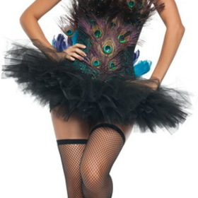 Starline T1017S Sexy Peacock Adult Costume, Display Size: Small