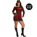 Rubies Costumes 195200 A Nightmare On Elm Street - Miss Krueger Adult Plus Costume