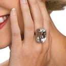 Rubies Costumes 9526 Faux Diamond Ring