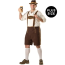 In Character Costumes 195543 Bavarian Guy Adult Plus Costume - Plus (2X)