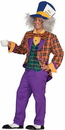 Forum Novelties 64090 Plaid Mad Hatter Adult Costume