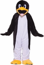Forum Novelties 64248 Penguin Plush Economy Mascot Adult Costume, Display Size: Standard (One Size)