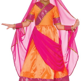 BuySeasons 15978C S Bollywood Child Costume, Display Size: Small (4-6)