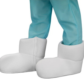 Rubies Costumes 3641 The Smurfs Shoe Covers Child - Size: One Size - Color: White