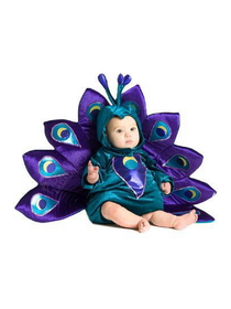 Princess Paradise 4677CE 6/12M Baby Peacock Infant/Toddler Costume, Display Size: 6/12 Months