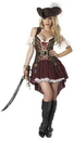 California Costumes 01164S Sexy Swashbuckler Adult Costume