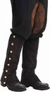 Forum Novelties 66245 Steampunk Male Spats Black Adult