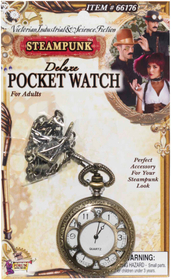 Forum Novelties 66176 Steampunk Deluxe Pocket Watch