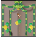 Beistle 54432 Jungle Monkey Party Canopy