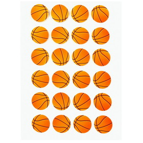 Darice Crafts AC 1214-27 Basketball Sticker Sheet