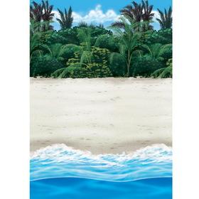 Amscan 670217 Beach Room Roll