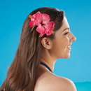 Tropical Sun 597270 Hibiscus Hair Clip - Assorted