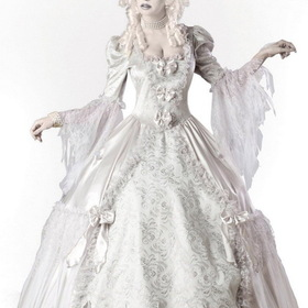 In Character Costumes 1084S Ghost Lady Elite Collection Adult Costume