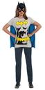 Rubies Costumes 212053 Batgirl T-Shirt Adult Costume Kit