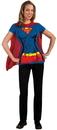 Rubies Costumes 212064 Supergirl T-Shirt Adult Costume Kit
