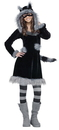 Fun World 215061 Sweet Raccoon Teen Costume
