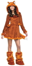 Fun World 215062 Sweet Fox Teen Costume