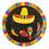 Amscan 233960 Fiesta Fun Dessert Plates