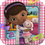 Hallmark 234853 Disney Junior Doc McStuffins Square Dinner Plates