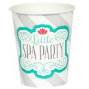 Party Destination 235289 Little Spa Party 9 oz. Paper Cups