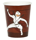 Party Destination 235293 Ninja Warrior Party 9 oz. Paper Cups