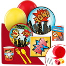 Birthday Express 237372 Superhero Comics Value Party Pack