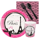 Birthday Express 238013 Paris Damask Snack Party Pack