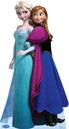 Advanced Graphics 238622 Disney Frozen Elsa and Anna Standup